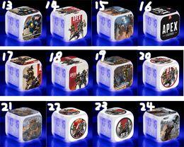 7 farben ändern kinder spielzeug multifunktions apex legends cartoon wecker mit led licht digitale nacht elektronische party geschenk led spielzeug von Fabrikanten