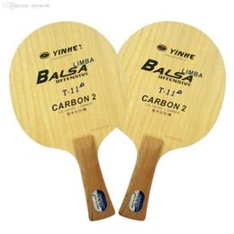 2019 raquetes de tênis de mesa dupla felicidade Atacado-Yinhe / Via Láctea / Galaxy T-11 + (T 11+, T11 +) ténis de mesa / lâmina de pingue-pongue