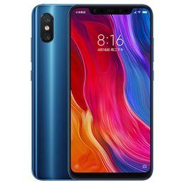 2019 cdma dual sim smartphone Глобальная версия 4 ГБ 64 ГБ Xiaomi Mi 8 4G LTE Octa Core Snapdragon 845 6,21