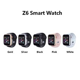 new smart watches Promo Codes - New Released Z6 Smartwatch For Iphone Smart Watch Bluetooth 3.0 Watches With Camera Supports SIM TF Card For Android Smart Phone