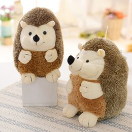 Best Gift Toys For Children Kid Cute Lovely Soft Hedgehog Animal Doll Stuffed Plush Toy Child Kids Home Wedding Party Cheap Sales 50% Dolls & Stuffed Toys
