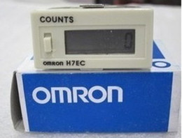 Contador omron on-line-100 PCS Eletrônico cansado H7EC-6 máquina de venda automática contador eletrônico contagens quando cansado Omron sem voltag com bateria
