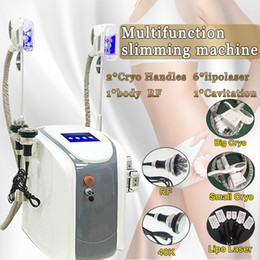 Canada Zeltiq Cryolipolysis grosse taille de cryothérapie de machine de congélation amincissant le CE / DHL de laser de Lipo de réduction du tissu adipeux de corps de machine de cavitation de 40K Cavitation RF cheap lipo machine cryolipolysis Offre