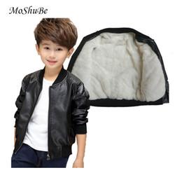 2018 New Baby Boy faux Leather Jacket Boys Coat Black and Brown Color Children Jackets Manteau Garcon Kids Jacket