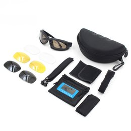 2019 стрельба Мотоциклетные очки Защита ветрозащитные мото очки Очки армейские поляризованные солнцезащитные очки MTB / ATV Охотничьи стрелковые очкиMen Eye дешево стрельба