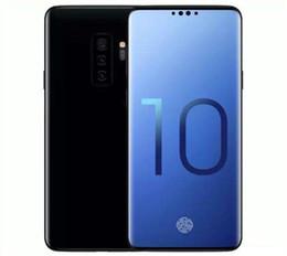 Nouveau téléphone de déverrouillage en Ligne-Nouvelle arrivée Goophone S10 6.3ich 1440 * 720 Quad Core Ram 1 Go Rom 8 Go empreinte digitale Iris Déverrouiller téléphone intelligent