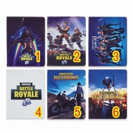 "support de manche ipad Promotion Fortnite Battle Royale Portefeuille Etui En Cuir Pour Ipad 2 3 4 Air 2 Pro 9.7 ""Pour Ipad 2017 2018 Mini 1 2 3 4 Stand Smart Cover Housse En Cuir"