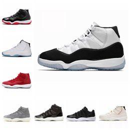 Canada Concord 11 Chaussures de basket-ball 11 Zapatos Hommes Baskets Concord 45 Teinte Platine Space Jam Gym Designer Baskets Offre