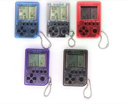 Canada Mini machine de jeu classique Tetris Machine de jeu pour enfants Rétro Nostalgique Mini machine de jeu Porte-clés Jouets éducatifs pour enfants Offre
