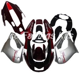 Yamaha thunderace red on-line-Vendas Hot, For Yamaha YZF 1000R ABS Corpo Kit YZF 1000R 1997-2007 YZF 1000 R 97-07 Aftermarket carenagens Set Red prata