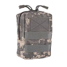 poche à outils molle Promotion Pochette utilitaire outil Zipper taille Pack chasse sacs militaire Molle taille sac tactique EDC poches en plein air ceinture # 981785