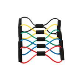 Canada Type de résistance 8 thorax ceinture d'entraînement de yoga tube de yoga exercice équipement de remise en forme outil cordon élastique cheap chest training equipment Offre