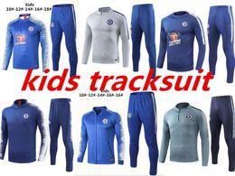 Migliori collant online-Best 2019 kids Survêtement HAZARD DIEGO COSTA tuta da allenamento OSCAR per bambini 18 19 20 tute sportive tuta sportiva tuta sportiva