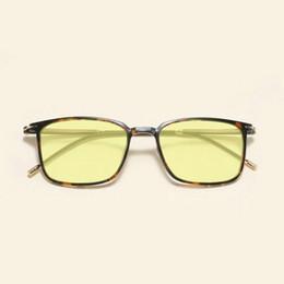 Wolfram-carbon-gläser online-Platz Tungsten Carbon-Kunststoff Stahl Ultra Light Comfort Männer und Frauen Blau lichtundurchlässige Brille JW