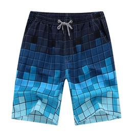 4xl herren schwimmen shorts Rabatt Herren Badeshorts Sommer Strand Stil Knielange Größe Multi Typ Quick Dry Plaid Floral Solide Shorts
