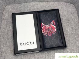 Cartões de crédito garantidos on-line-Homens Zipper Longo Cartão de Crédito Do Telefone Id Titular Guarantee Purse Clutch Wallet