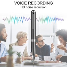 portachiavi del registratore vocale Sconti Q96 Professional Voice Recorder Riduzione digitale del rumore HD Inchiostro invisibile Taglio del tempo Registrazione vocale Penna per registratore intelligente
