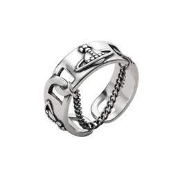 muy buenas flores Rebajas Orbe anillo ajustable 925 Planet anillo de la cadena de joyería de lujo de plata tailandesa de regalo de las mujeres