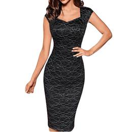 4ca79c76d9b786 Sexy Sommerkleid Damenmode Retro Party, figurbetontes Kleid 2019 elegante  ärmellose Kleider Frau Party Nacht Robe Femme Vestidos