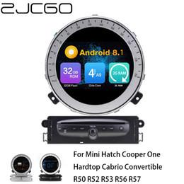 kia sorento radio gps Rebajas Car Stereo Reproductor multimedia GPS de la pantalla de Radio Navegación androide de DVD del coche Mini Cooper Hatch Un techo rígido descapotable R50 R52 R53 R56 R57