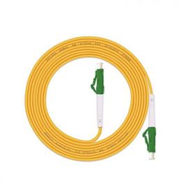 Cabo de patch de fibra lc on-line-3,0 milímetros 1M ~ 50M LC / APC-LC / APC G657A1 LSZH FTTH Simplex patch cord de fibra óptica FTTH transporte livre cabo de ligação em ponte óptica fibra monomodo