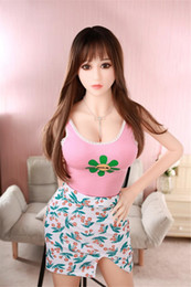 menina japonesa sexo anal Desconto 158 cm Menina bonita Grande Mama Ass Japonês boneca sexual de silicone completo com boca da vagina anal homens amor boneca