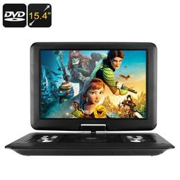 Bluetooth portatile dvd online-NUOVO lettore DVD portatile da 15.4 pollici, disco universale, gioco, radio FM, E-Book, A-TV, 270D