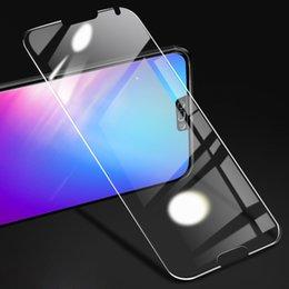 2019 iphone hochwertiges kameraobjektiv Großhandel 9H Ausgeglichenes Glas für Samsung Galaxy A10 20 A30 40 A50 A60 A70 A90 A51 80 71 81 A91 Klarglas-Schirm-Schutz Anti-Scratch-Film