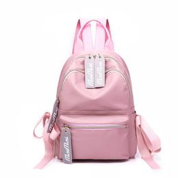 6c54e6c201aaa 2019 schöne rucksäcke frauen Winmax Rosa Koreanischen Stil Frauen Rucksack  Schultaschen Jugendliche Weibliche Schöne Nylon Reisetaschen