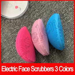 Электрические чистящие средства для лица Чистящие средства Щетка для лица Sonic Cleaning Чистка кожи лица Силиконовые водостойкие инструменты Аксессуары от