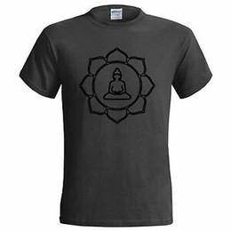 BOUDDHA LOTUS FLEURS HOMMES T-SHIRTS PADMA BOUDDHISME SYMBOLE DE RELIGION FORTUNE ? partir de fabricateur