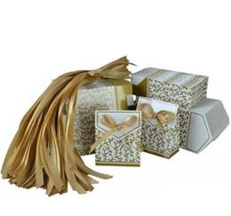 Süße jubiläumsgeschenke online-2019 Jubiläumsparty Geburtstag Babyparty präsentiert Box Hochzeitsbevorzugung Tasche süße Kuchen Geschenk Candy Wrap Papierboxen Taschen