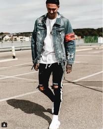 Homme moulant, nouveau corps brodé, petits pieds, jeans élastiques tissés. ? partir de fabricateur