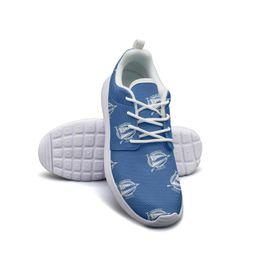 2019 zapatillas de suela de goma Deportivo Alavés Babazorros El Glorioso azul Mujer Hombre Malla con cordones Suela de goma natural Zapatillas Zapatillas Cómodo Ocio Lona Deporte zapatillas de suela de goma baratos