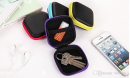 Earphone Wire Storage Box Organizer Data Line Cables Storage Container Case Earbuds SD Card Box