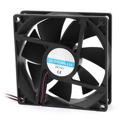 2019 ventilador de refrigeración sin escobillas 12v 90 mm x 25 mm 9025 2 pines 12V DC sin escobillas PC Case CPU Cooler Fan Cooling Fan # 8 rebajas ventilador de refrigeración sin escobillas 12v