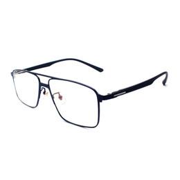 Очки для деловых мужчин онлайн-Men Business Full Rim Eyeglasses Frame Rectangular Fashion  Prescription Glasses Spectacles Eyewear for Man