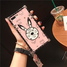 2019 funda de coche de lujo iphone Funda de teléfono híbrida de marca de moda de diseñador para Galaxy Note10 plus S10 S9 Note9 A30 A40 A50 J5 J7 2017 cubierta para Huawei Mate 20 P30 Pro