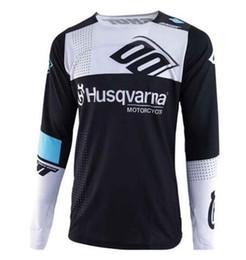 SPTGRVO 2019 enduro noir blanc motocross downhill jersey cyclisme vtt vetement vêtement mx jersey moto mens ropa vtt shirt ? partir de fabricateur