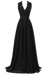 Nouveau banquet robe soirée soirée soirée longue robe dentelle v profond cocktail formelle maxi robe ? partir de fabricateur