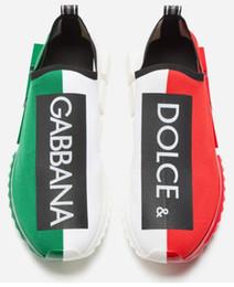 Resbalón de goma para tacones online-Inicio Zapatos Hombres de marca Estirar Malla Estampado de letras Zapatillas Sorrento Diseñador Mujeres Tacón pintado Slip-on Suela de goma Zapatos ocasionales