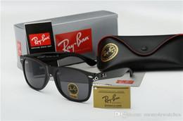 2019 Aviator Ray Sunglasses Vintage Pilot Brand Gafas de sol Banda UV400 Prohibiciones de protección Hombres Mujeres Ben wayfarer Gafas de sol con estuche desde fabricantes