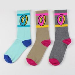 2019 meias estranhas 6 Cor-frete grátis novo Harajuku hip hop skate estranho futuro donut meias ofwgkta meias dos homens Unisex esporte algodão meias meias estranhas barato