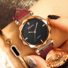 Fashion Womens Ladies Watches Geneva Leather Band Analog Quartz Women wrist watch marca de lujo mujer cheap geneva quartz watches womens от Поставщики женева кварцевые часы женские