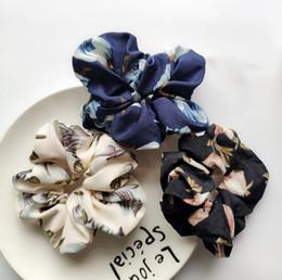 микс мастер оптом Скидка Бесплатная доставка Женская мода элегантный цветок печатных резинки для волос милые резинки для волос девушки аксессуары для галстуков хвост держатель
