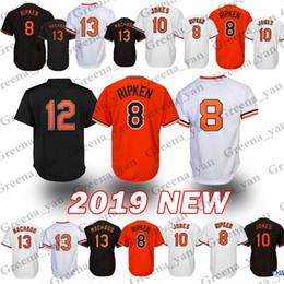 8d5f844223e Baltimore Oriol Baseball Jersey 8 Cal Ripken Jr. 13 Manny Machado 12  Roberto Alomar 10 Adam Jones Baseball Jerseys Adult shirt