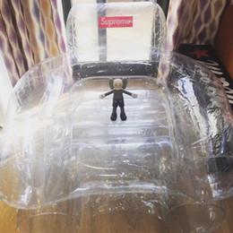 2019 sacs flottants La chaise gonflable de clone 18FW tnr de salon flotte des flotteurs et des tubes gonflables Beanbag Sofa Chair Salon Bean Bag Cushion Outdoor Self Gonflé sacs flottants pas cher