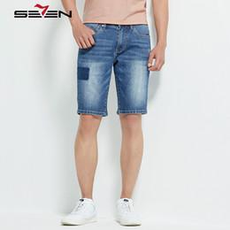 2019 più jeans designer di dimensioni Pantaloncini di jeans da uomo elasticizzati di marca jeans elasticizzati di marca pantaloni slim per uomo pantaloni da motociclista skinny Plus Size 80030 più jeans designer di dimensioni economici