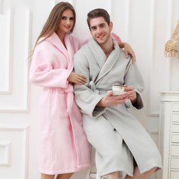 Cotton bathrobe women XL long thick soft warm towel terry robe nightgown  ladies nightdress for girls winter spring 208e09db4