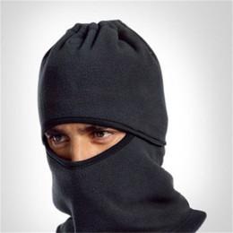 Chapéus à prova de inverno on-line-Portátil prova de vento Máscara Cap Cashmere Ciclismo bicicleta Chapéus de Inverno Capacete de Proteção Facial Com Multi Color 4 5mx jj